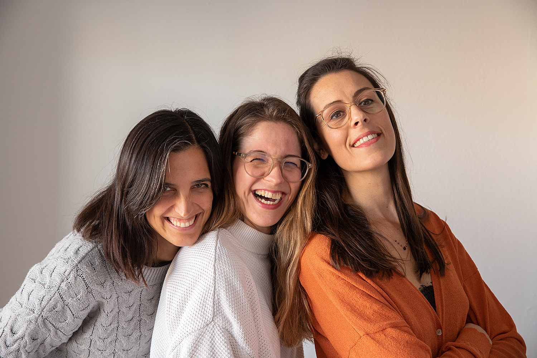 Barbara, Amandine et Paula